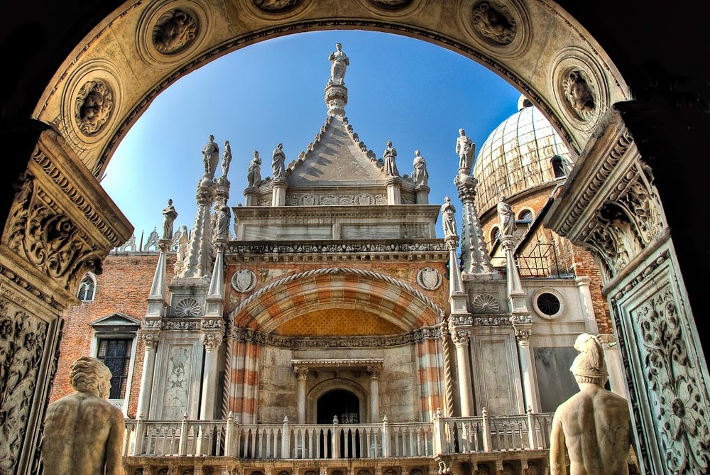 Doge's   Palace, St Mark's Square, Venice, Italy