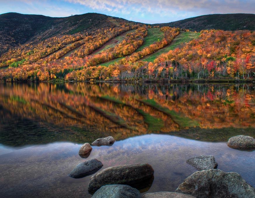 Echo Lake, Franconia, New Hampshire