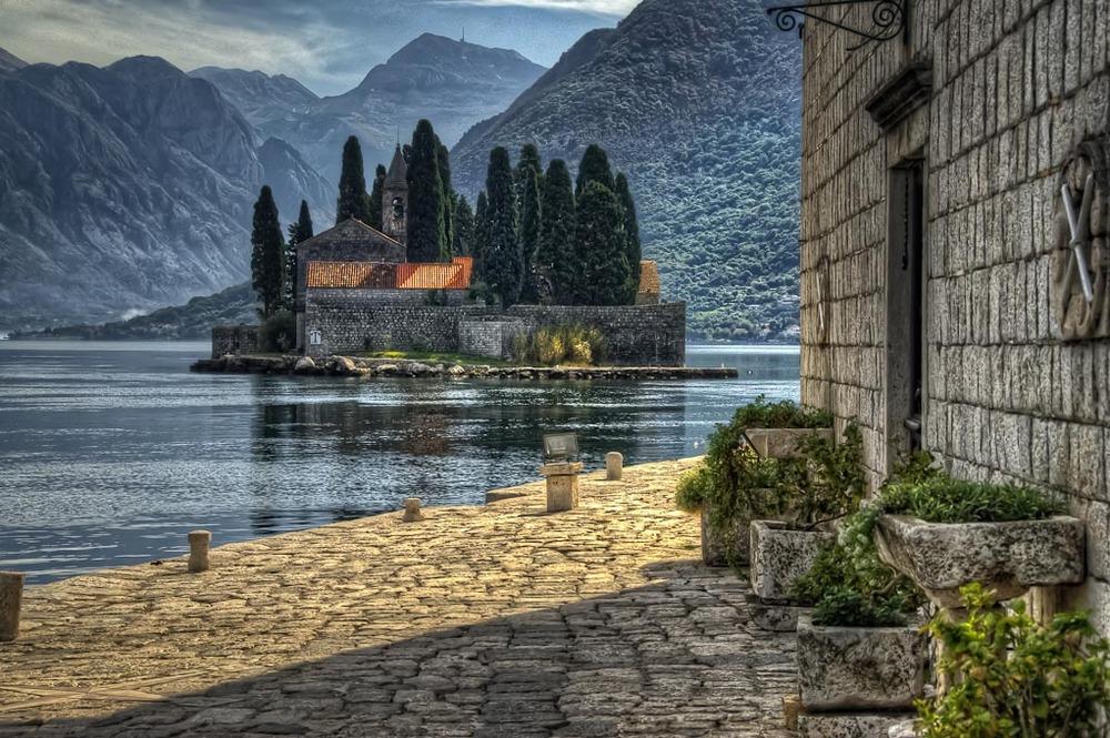 Sveti   Đorđe, Bay of Kotor, Montenegro
