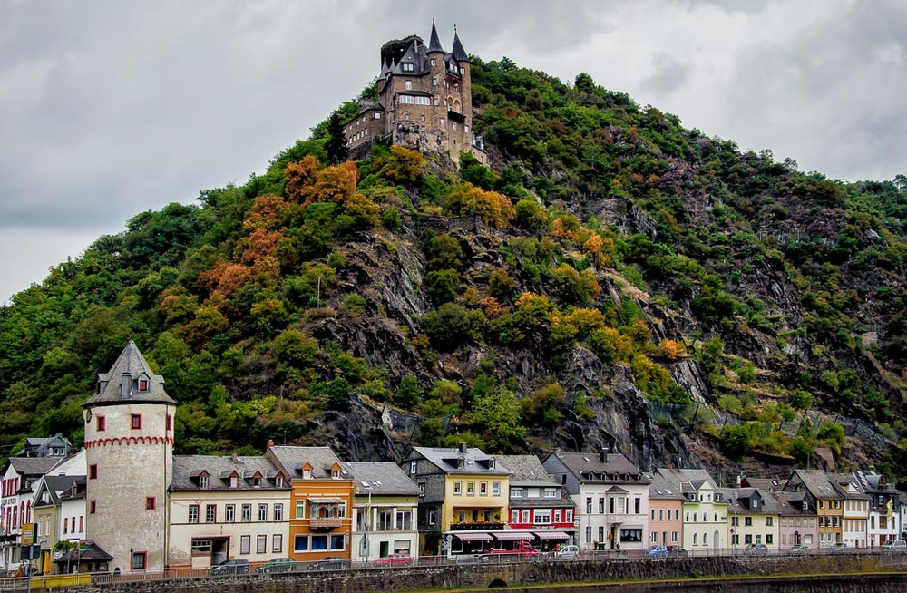 Katz Castle, St Goarshausen, Germany