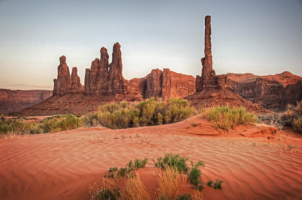 Monument Valley, Navajo Reservation, Utah / Arizona Border