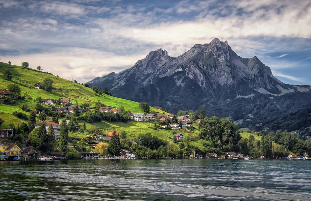 Mount   Pilatus, Lake Lucerne, Lucerne, Switzerland