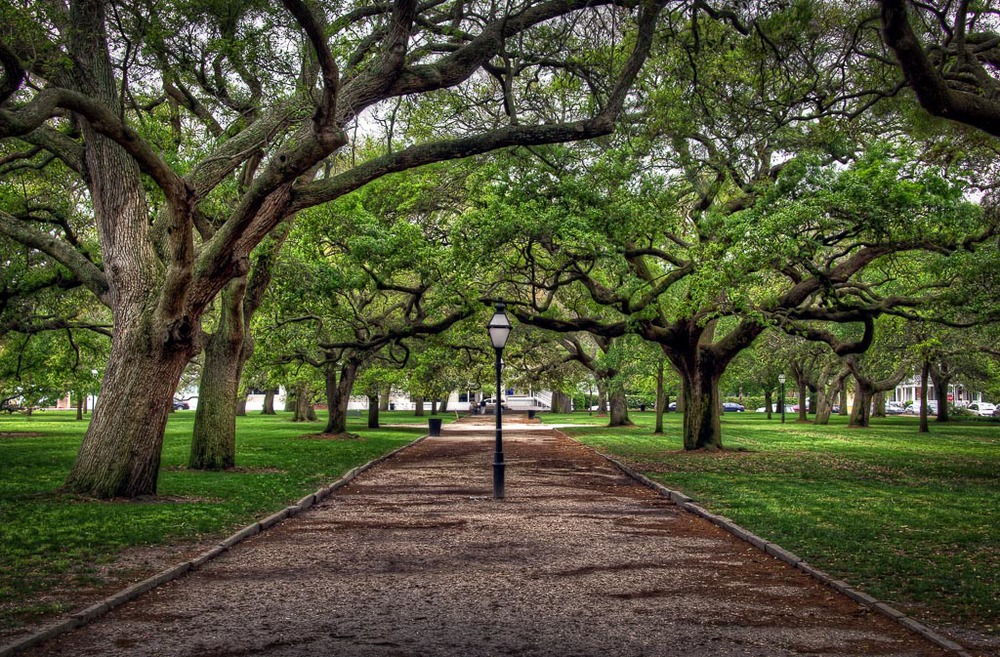 White   Point Garden, Charleston, South Carolina