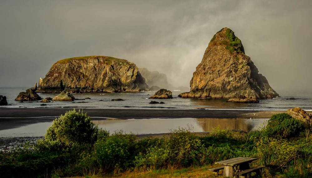 Whaleshead Beach, Brookings, Oregon
