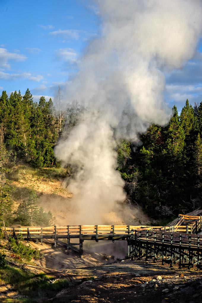 Mud Volcano, Yellowstone National Park, Wyoming