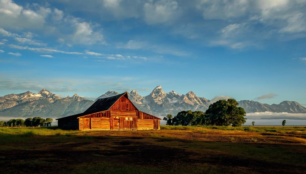 Thomas Moulton Barn, Grand Teton National Park, Wyoming