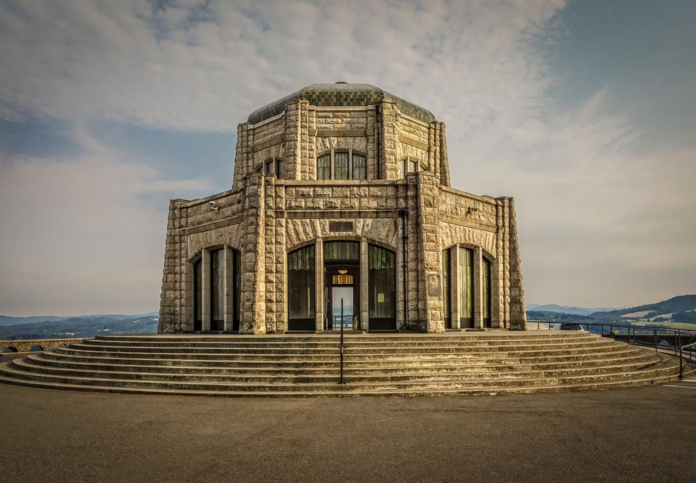 Vista House, Columbia River Gorge, Corbett, Oregon