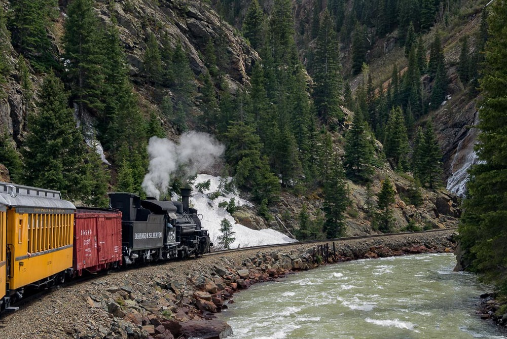 Durango & Silverton Railroad, Colorado