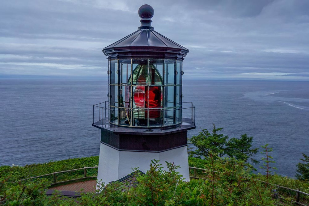 Cape Meares Lighthouse, Cape Meares State Scenic Viewpoint, Oceanside, Oregon