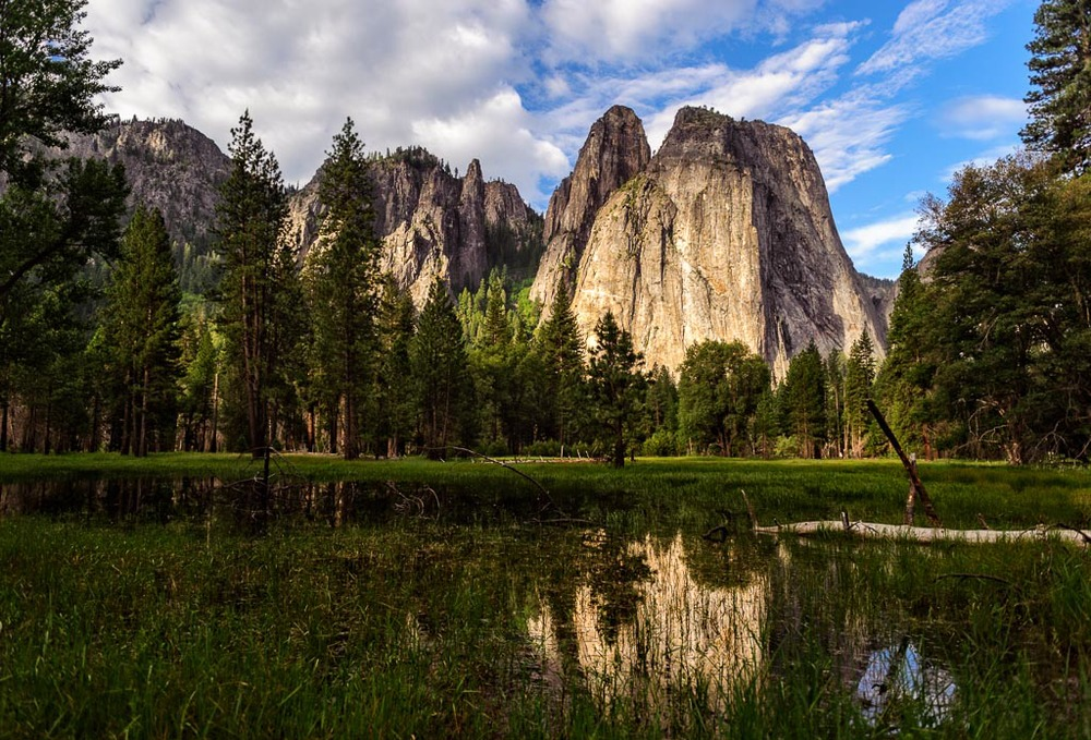 Cathedral Rocks, Yosemite National Park, California