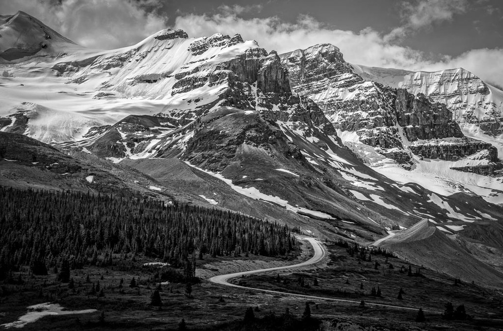 Columbia Icefields, Icefields Parkway, Jasper National Park