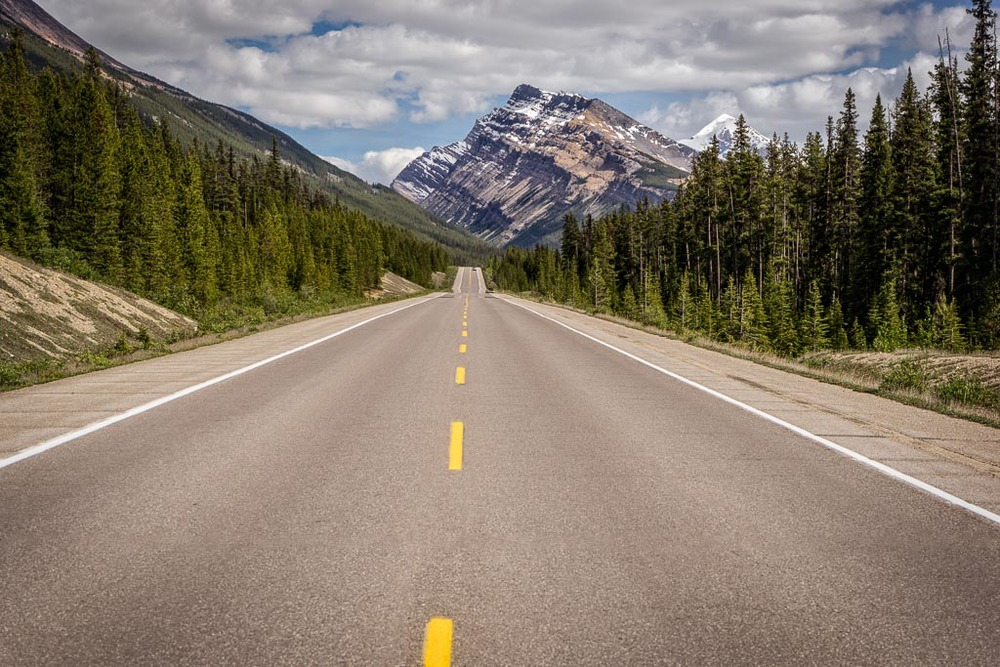 Icefields Parkway, Jasper National Park, Alberta, Canada