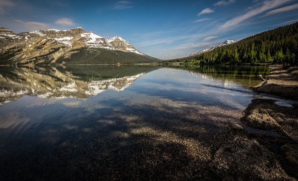 Bow Lake, Icefields Parkway, Banff National Park, Alberta, Canada