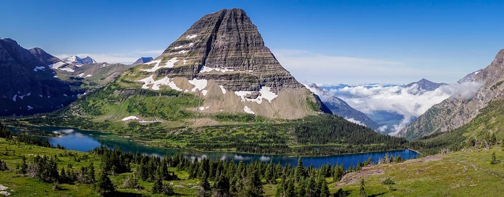 Hidden Lake Overlook, Logan Pass, Glacier National Park, Montana