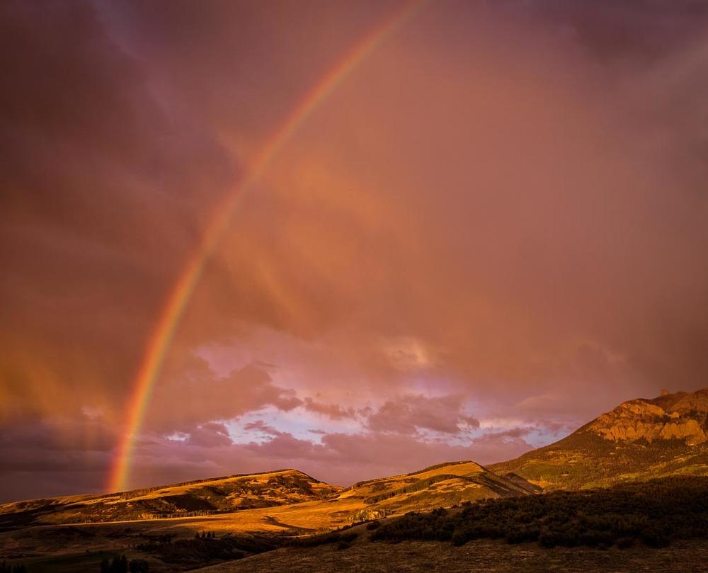 Near Last Dollar Ranch, Telluride, Colorado