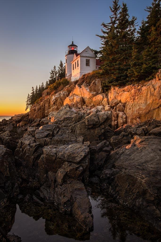 Bass Harbor Light, Acadia National Park, Maine