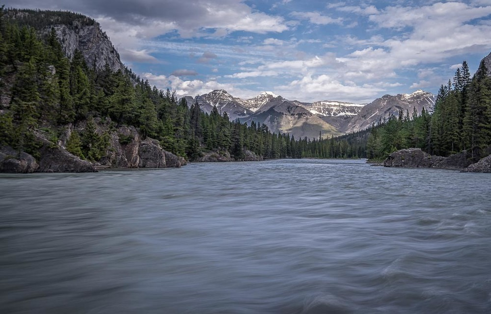 Bow River, Banff National Park, Banff, Alberta