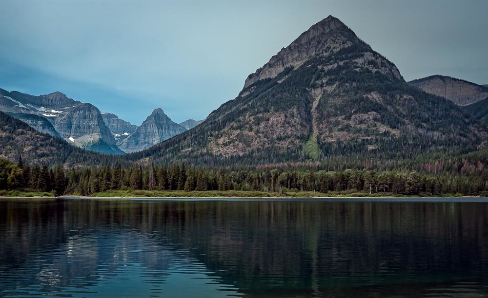 Upper Waterton Lake, Waterton Lakes National Park, Alberta, Canada