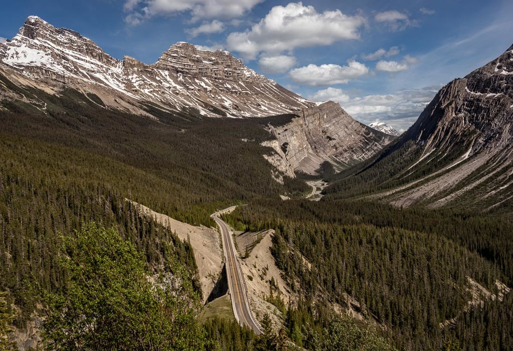 Icefields Parkway, Banff National Park, Alberta, Canada
