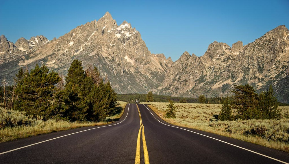 Potholes Turnout, Grand Teton National Park, Wyoming