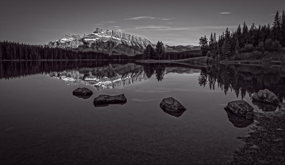 Tranquility on Two Jack Lake