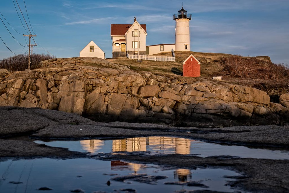 Nubble Light, Cape Neddeick, York, Maine
