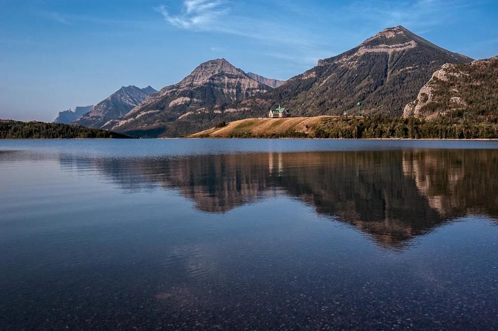 Upper Waterton Lake, Waterton Lakes National Park, Alberta