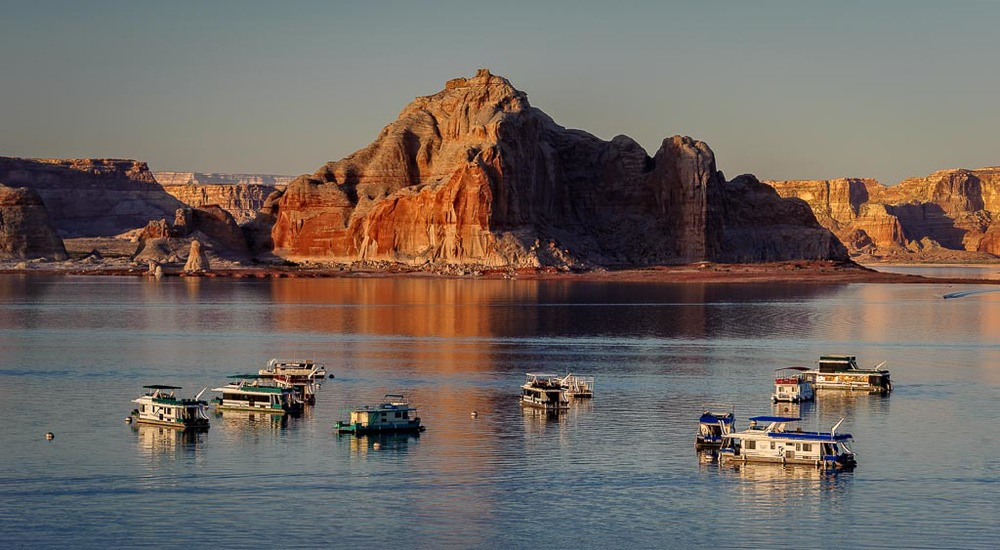 Wahweap Marina, Lake Powell, Arizona