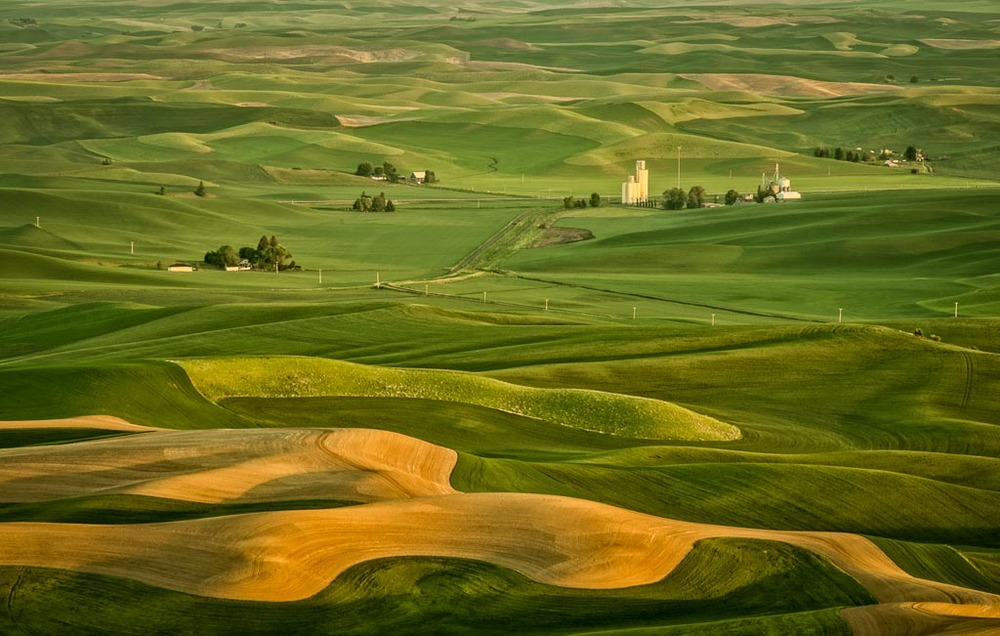 Steptoe Butte State Park, Colfax, Washington