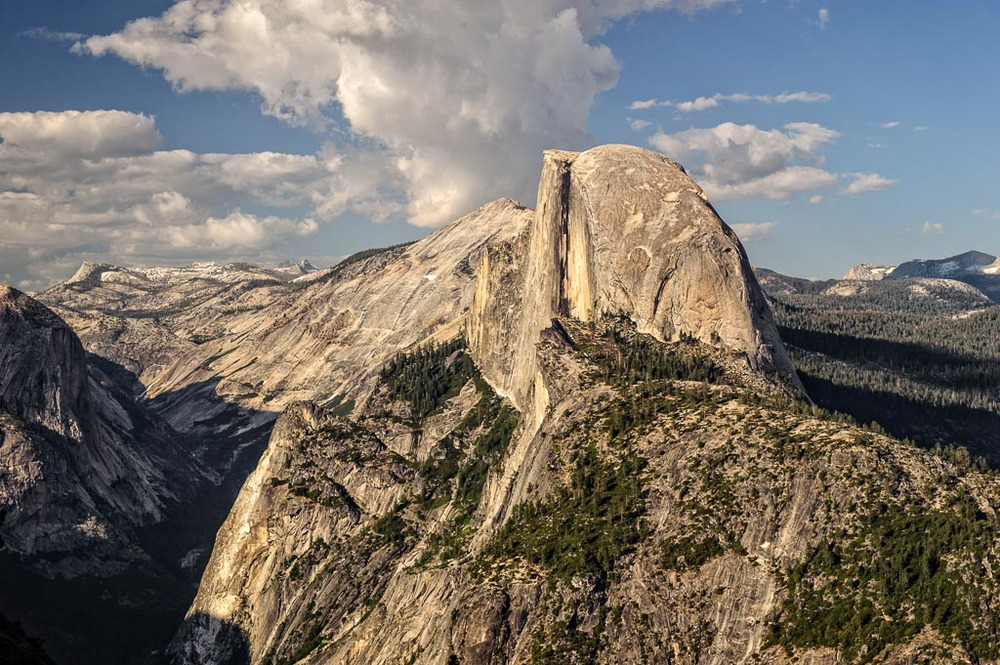 Half Dome from Glacier Point,Yosemite National Park, California