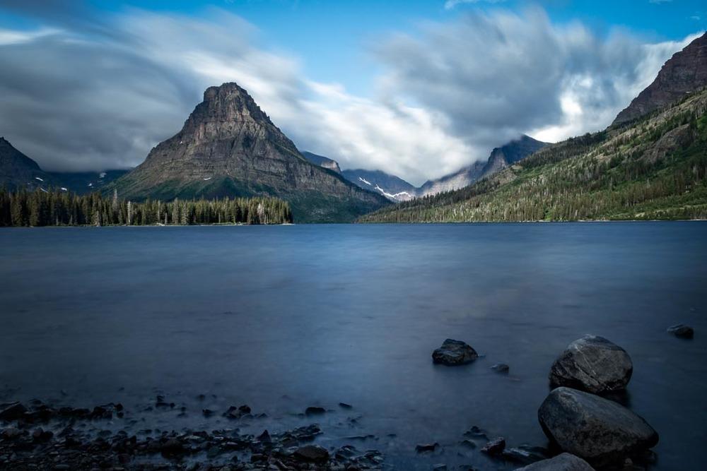 Sinopah Mountain, Two Medicine, Glacier National Park, Montana
