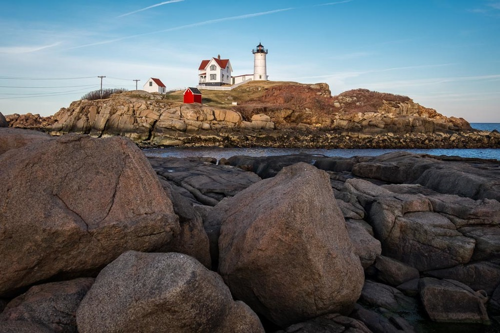 Nubble from the Rocks