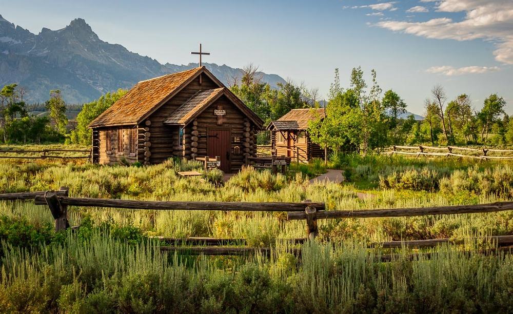 Chapel of the Transfiguration, Grand Teton National Park, Wyoming