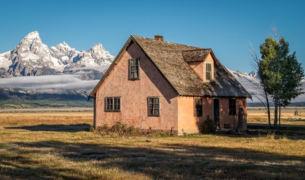 John Moulton Homestead, Grand Teton National Park, Wyoming