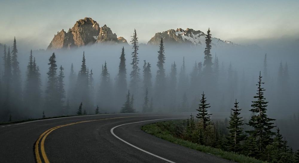 Paradise Road, Mount Rainier National Park, Washington