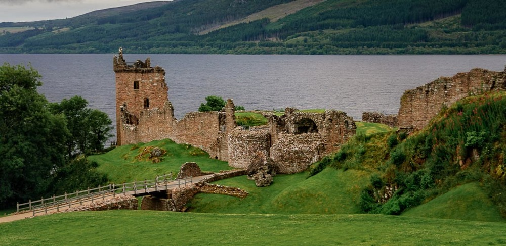 Urquhart Castle, Loch Ness, Inverness-Shire, Scotland