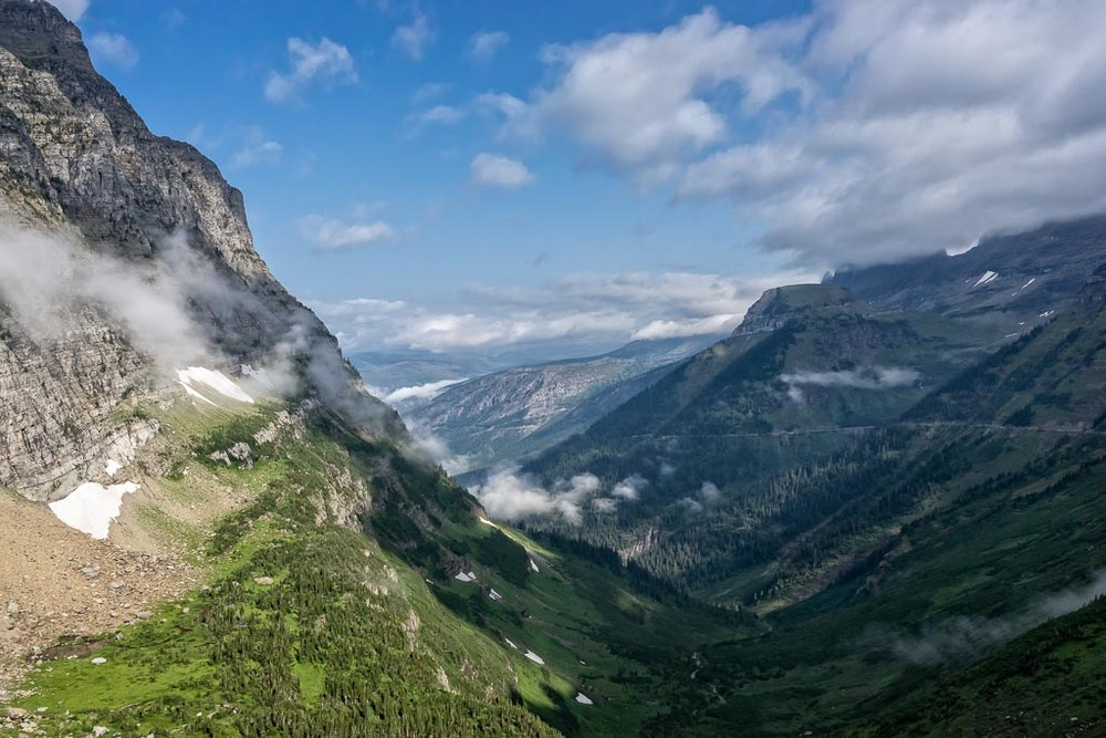 Logan Pass View
