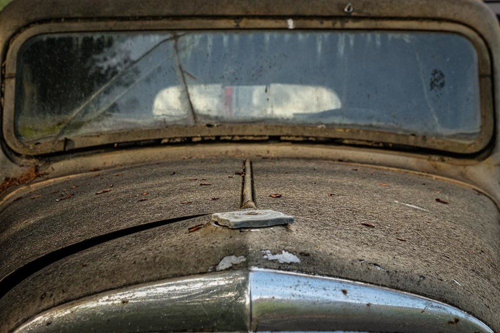 Antique Car Hood