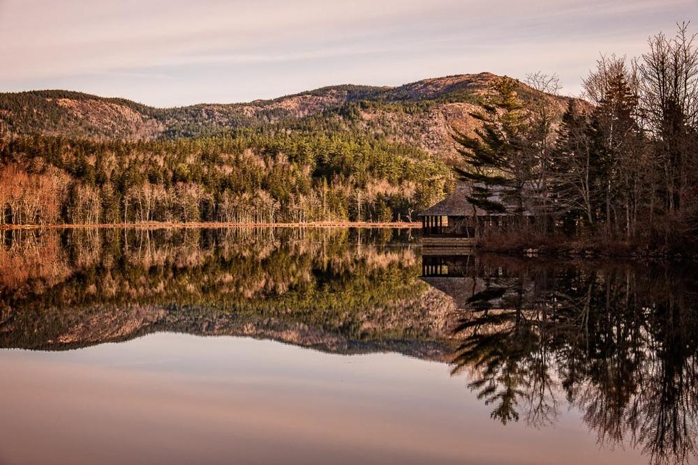 Mount Desert Reflection