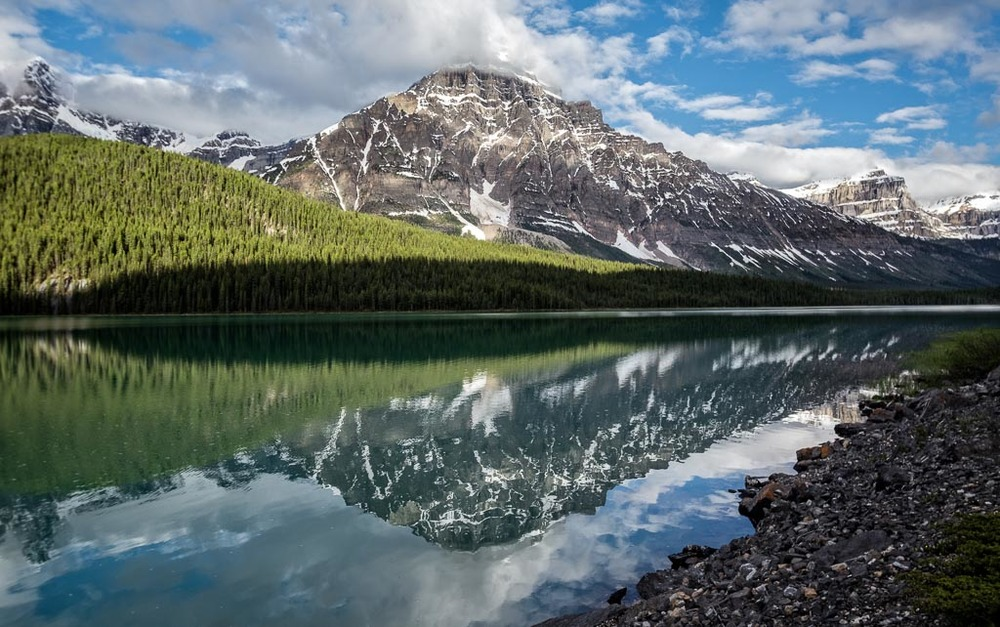 Waterfowl Lake, Icefields Parkway, Banff National Park, Alberta