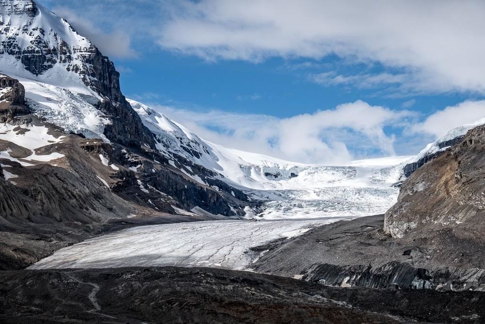 Columbia Icefields, Icefields Parkway, Jasper National Park, Alberta