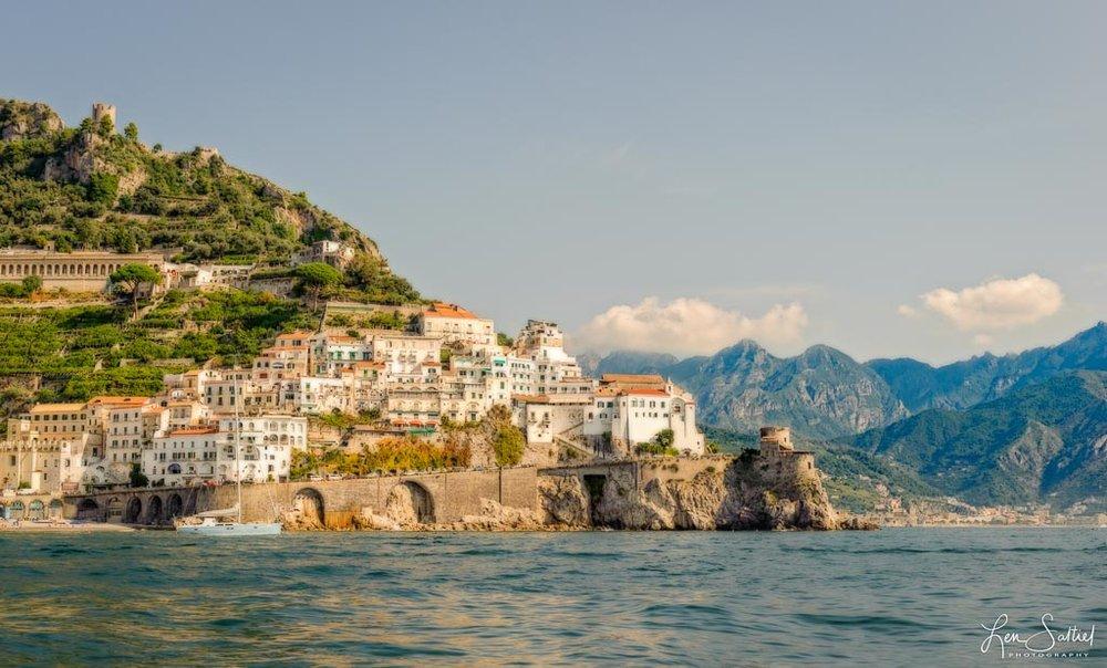 Amalfi from the Gulf