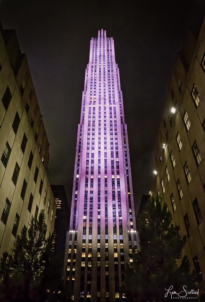 Rockefeller Center Night