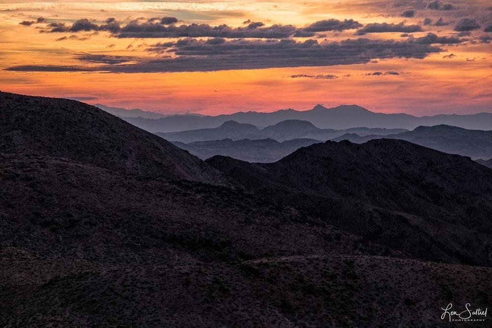 Amargosa Range Sunrise