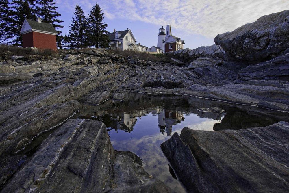 Coastal Light - Pemaquid Point Lighthouse, Maine