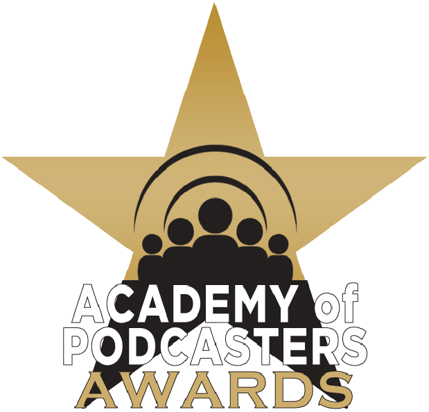 It was just announced - that the podcast that Miellyn co-created (she also wrote and produced the first season) has been nominated for an Academy of Podcasters Award! It's an honor to be counted among the other shows on the list, including some of our very favorites like Missing Richard Simmons and In the Dark.