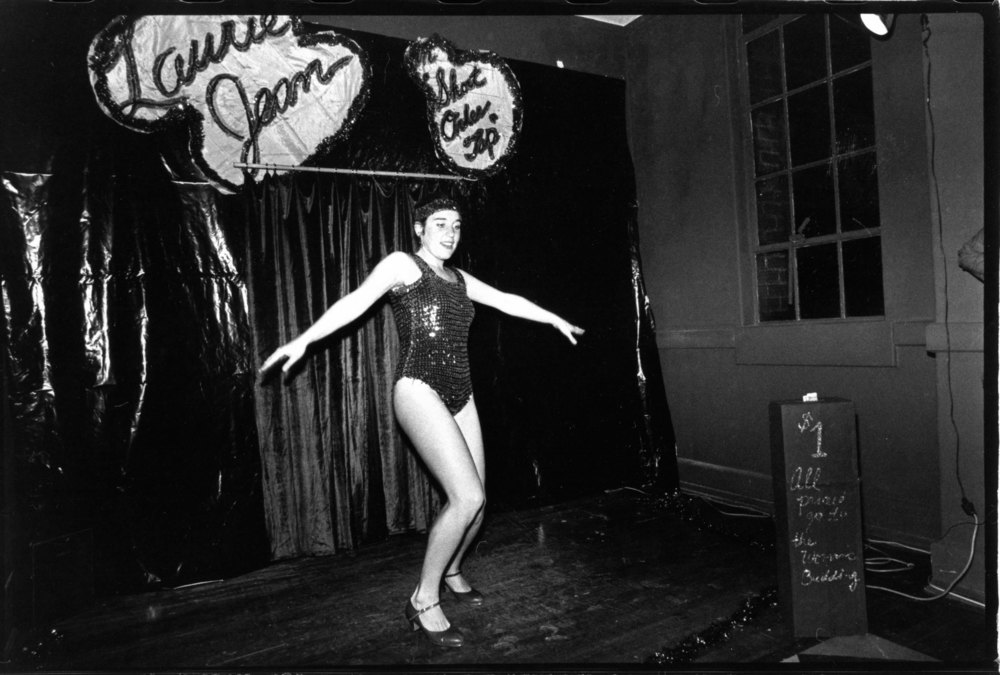 Laurie Jean, Tap Dancer Extraordinaire