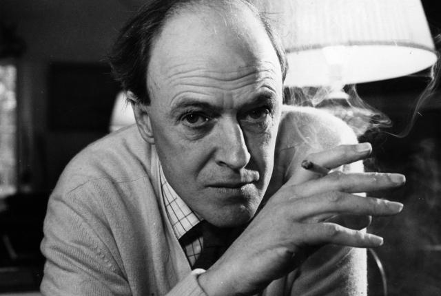 Roald Dahl the master himself