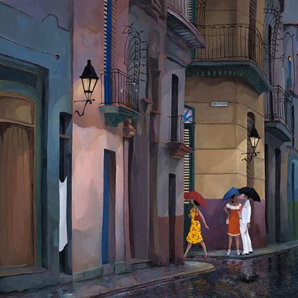 San Isidro street
