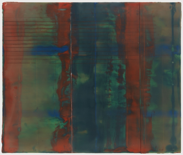 Red Structure 10 x 12in   encaustic on panel.jpg